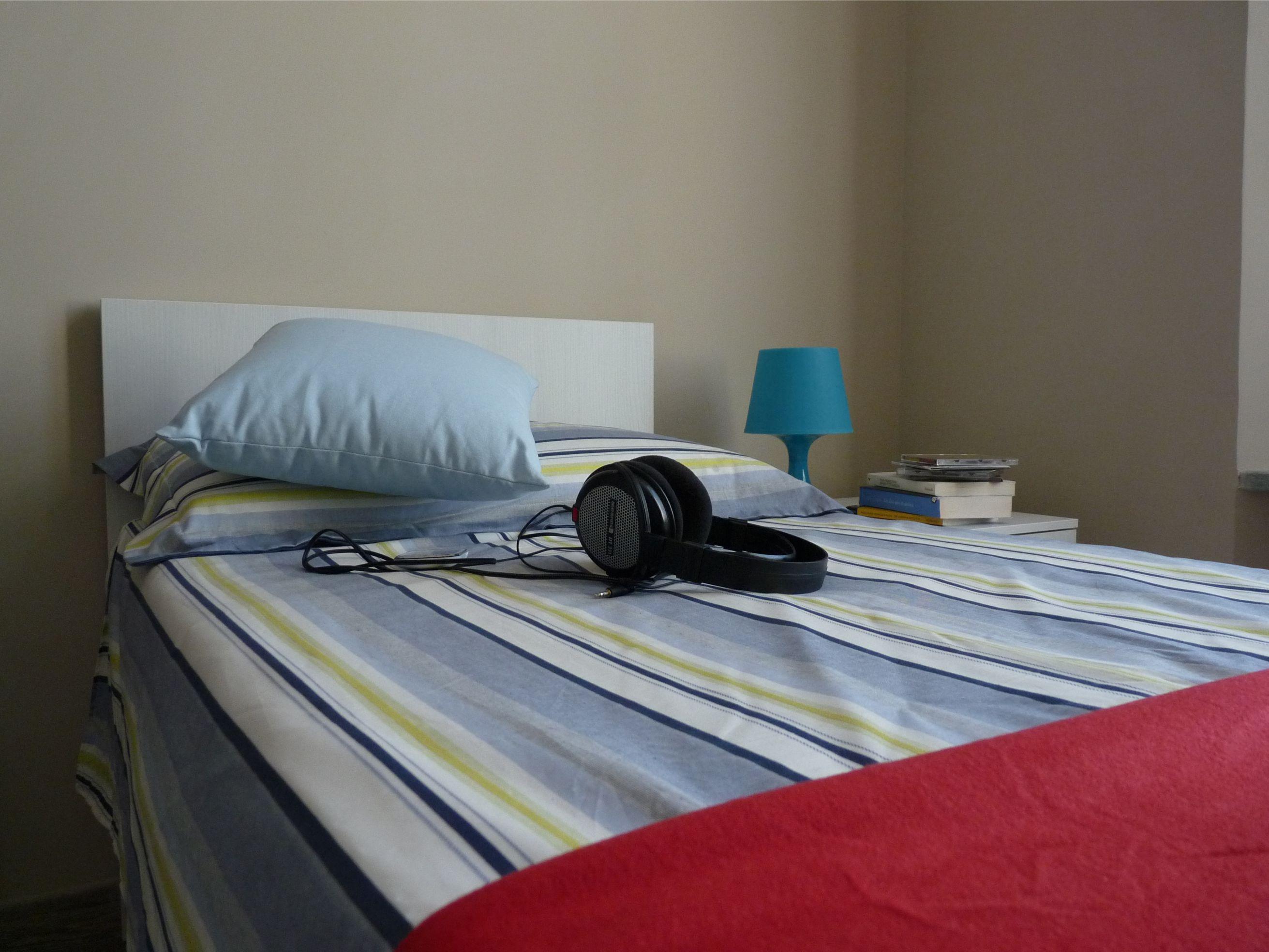 Camera da letto unità abitativa Housing Giulia